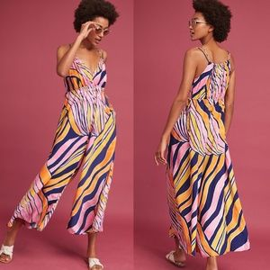 NWT ANTHROPOLOGIE Maeve Finley Wide-Leg Jumpsuit
